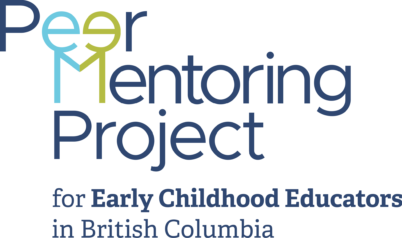 The Peer-Mentoring for Early Childhood Educators in British Columbia Website